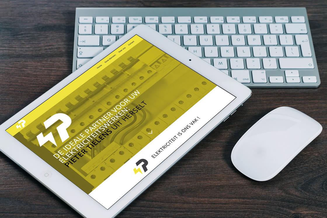 Technische uitwerking van een nieuwe responsive Wordpress-website voor elektriciteitswerken Pieter Tielens te Herselt